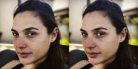 5ef22446 No Makeup Selfies - Celebrities Taking Selfies Without Makeup