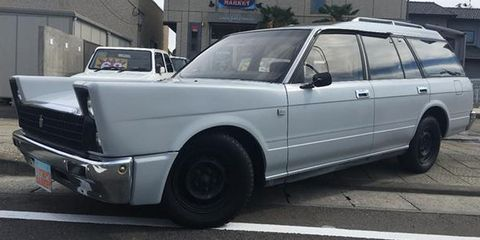 Custom Toyota Crown wagon for sale in Japan