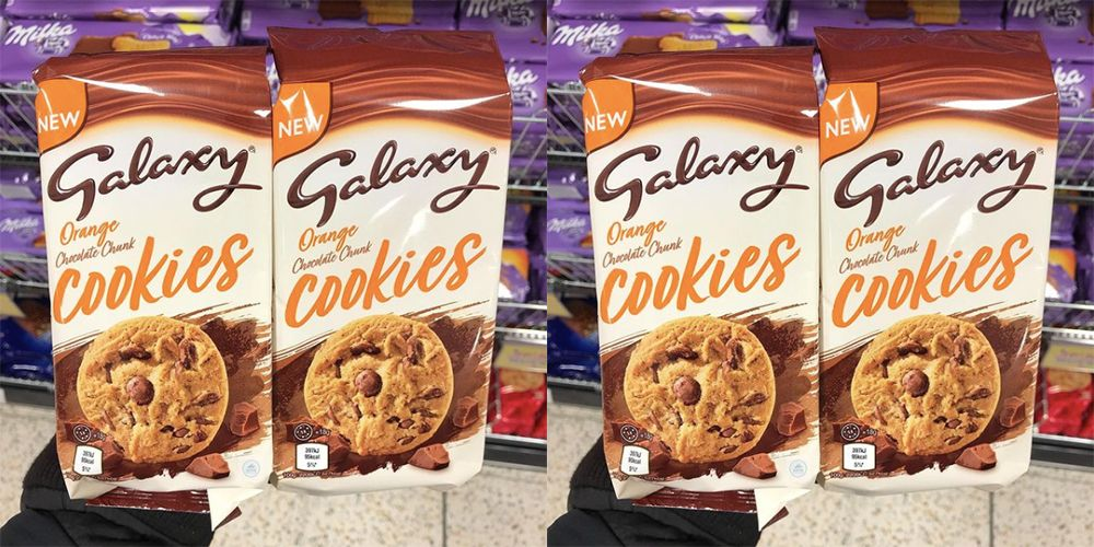 Galaxy Chocolate Cookies Now Come In Orange Flavour