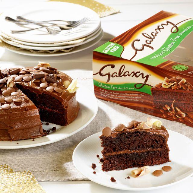 gluten free galaxy chocolate cake