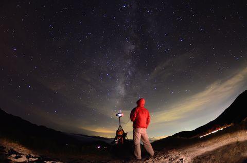 Galaxy night