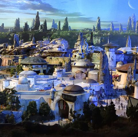 Disney's Star Wars: Galaxy's Edge model