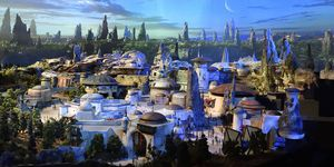 Disney's Star Wars: Galaxy's Edge model