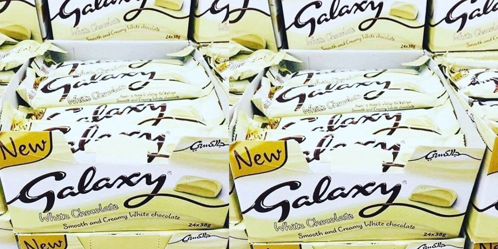 White Chocolate Galaxy exists in the world