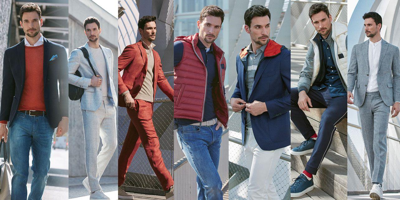 Cómo vestir bien de lunes a domingo con la firma de moda italiana Boggi Milano
