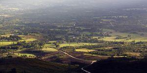 Galicia. Lugo. Villalba A Terra Cha landscape.