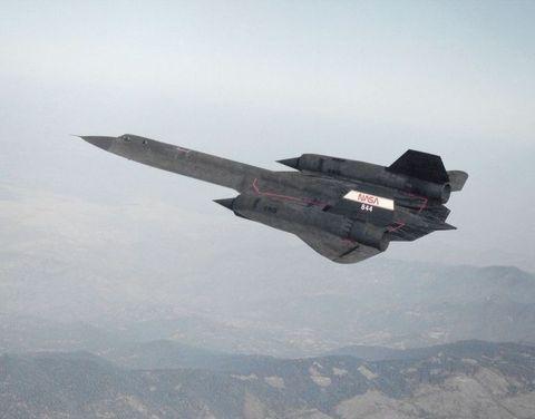 お墨付きの最高の航空機 「SR-71ブラックバード(SR-71 Blackbird)」