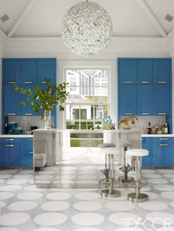 25 Designer Blue Kitchens Blue Walls Decor Ideas for Kitchens