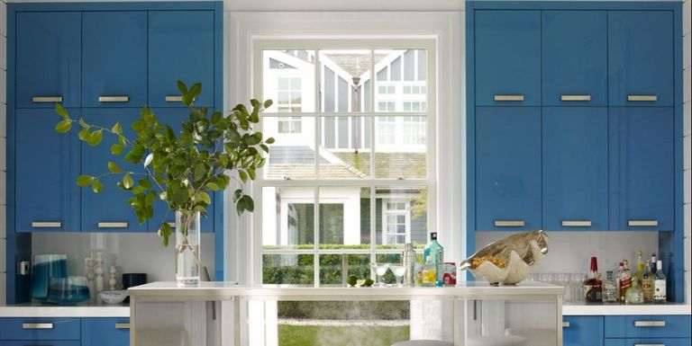 25 Designer Blue Kitchens Walls amp Decor Ideas For