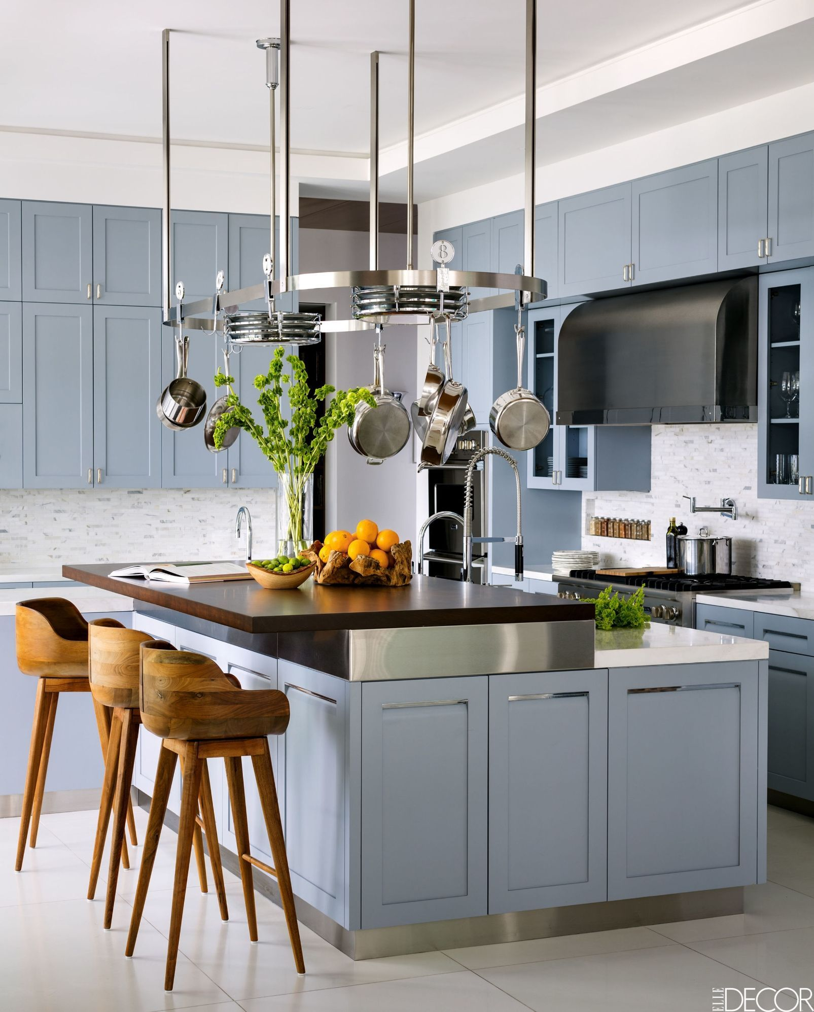 Blue Kitchen Zillow Study. Color · 35+ Interior Designers Reveal Their  Favorite Kitchen Paint Colors