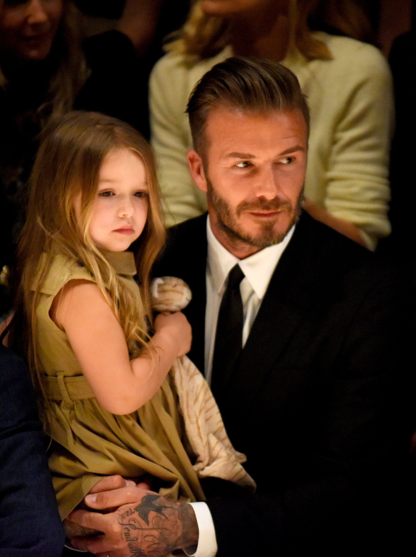 David Beckham Gives Harper Her First Soccer Lesson