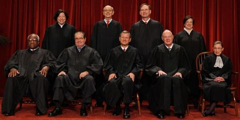 supreme court justices in 2015