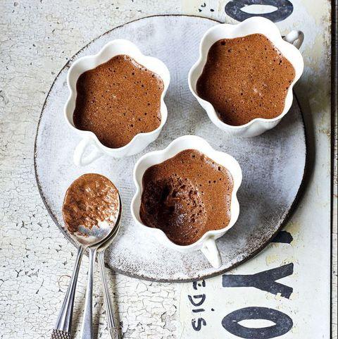 James Martin chocolate mousse
