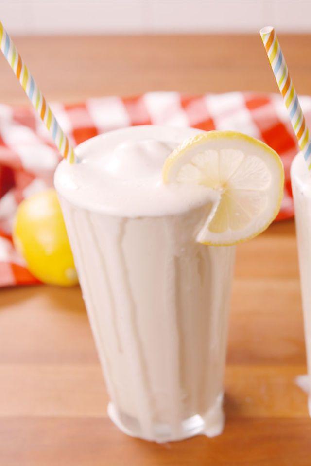 frosted lemonade milkshake