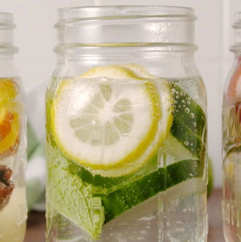 Non alcoholic drink recipes - glow water