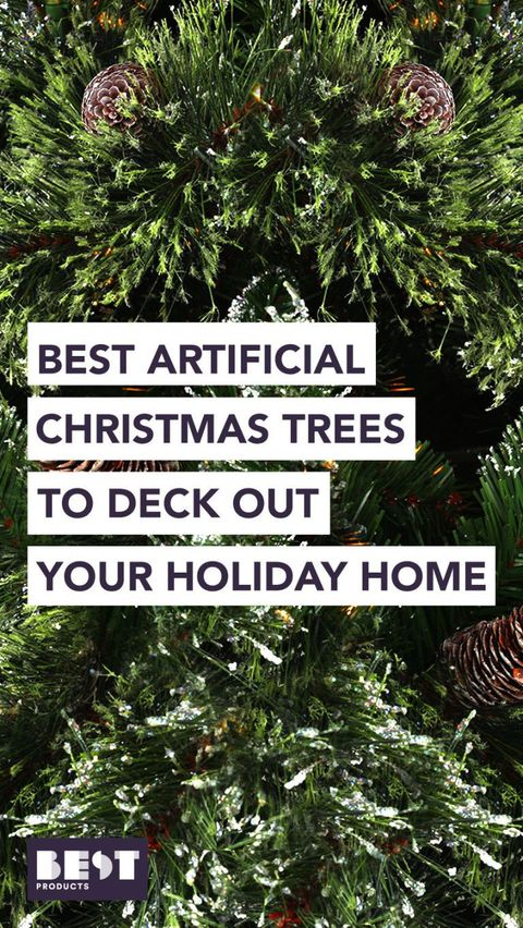 15 Best Artificial Christmas Trees 2019 Fake Christmas