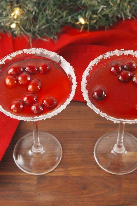 Christmas Cocktails - Santa Clausmopolitans