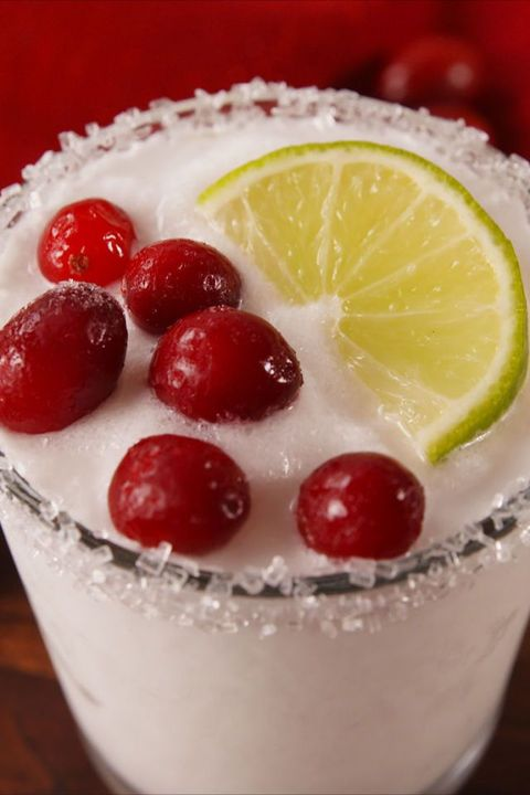 Christmas Cocktails White Christmas Margaritas