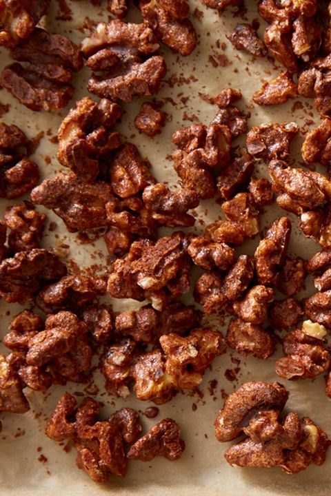 New Year's Eve Appetizers - Spicy Deviled Walnuts