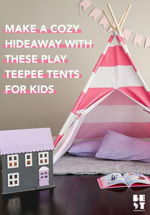 9 Best Kids Teepee Tents Of 2018 Totally Cool Play
