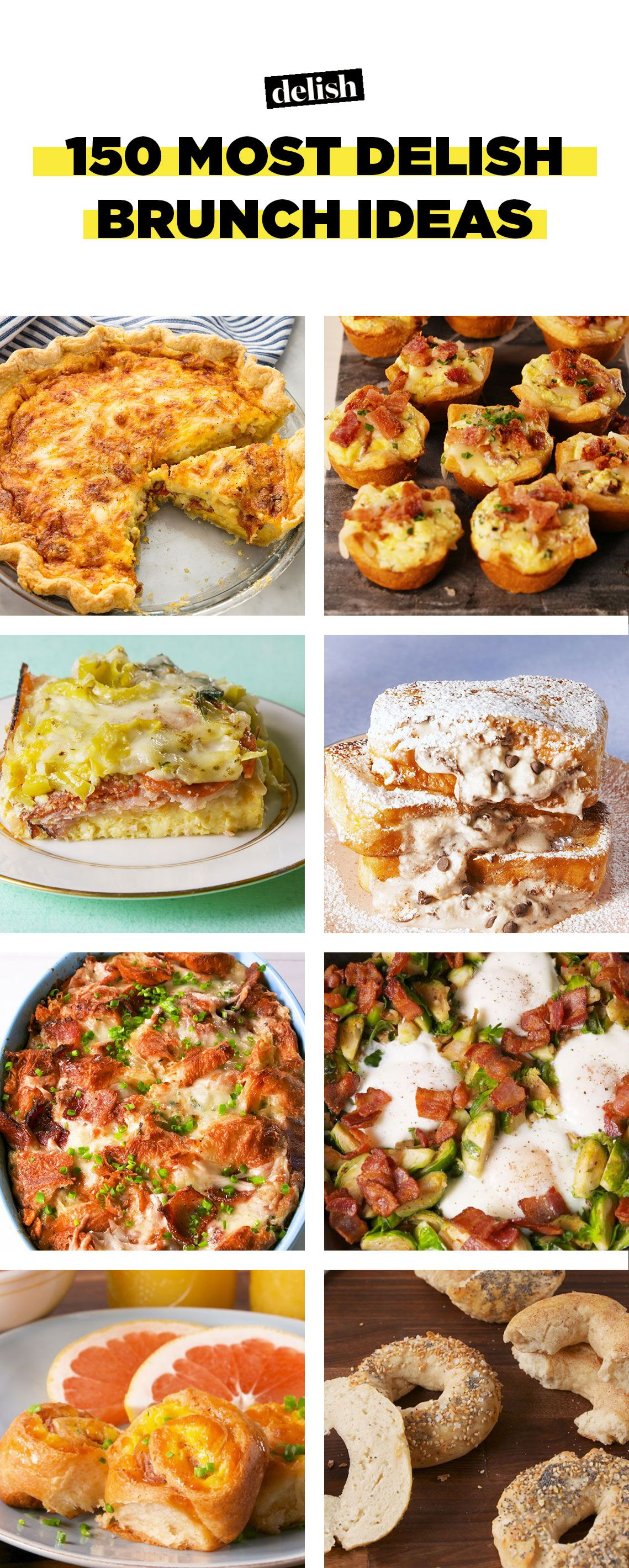 100+ brunch menu recipes - ideas for easy brunch food