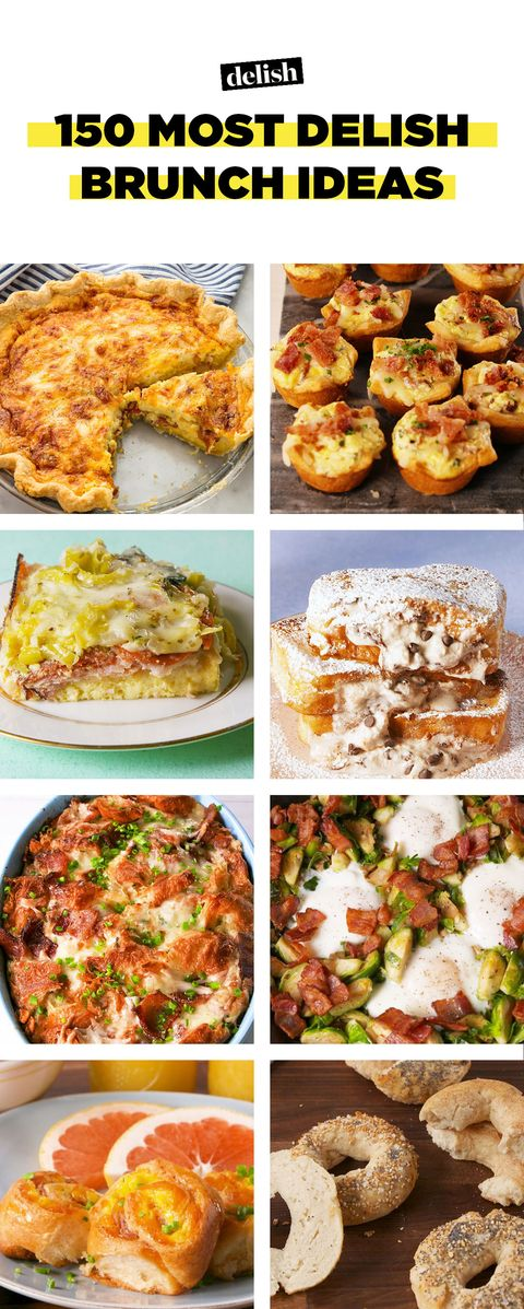 100 Brunch Menu Recipes Ideas For Easy Brunch Food