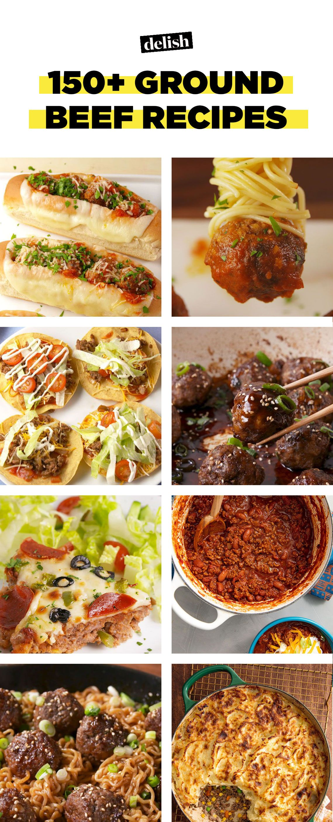 150 easy ground beef recipes what to make with ground beef delish forumfinder Images