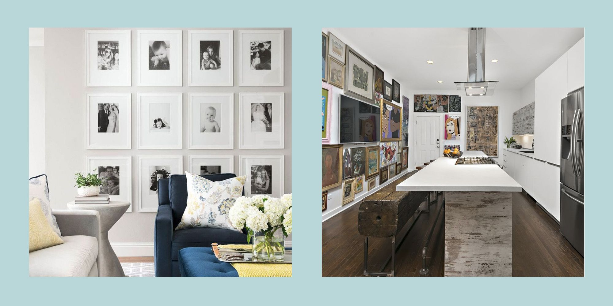 25 Stylish and Sophisticated Home Gallery Walls