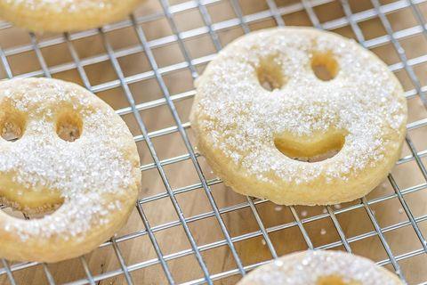 galletas al horno con carita smiley
