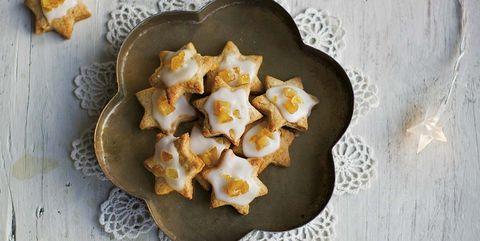 menú nochevieja galletas navideñas de naranja y canela
