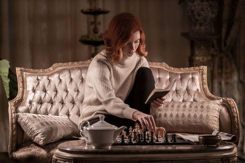 anya taylor joy en el reparto de la temporada 2 de gambito de dama