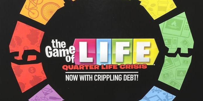 New The Game Of Life Quarter Life Crisis Edition Hasbro Parody