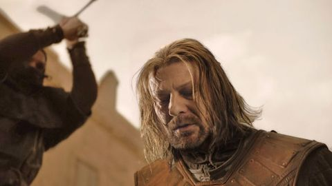 Ned Stark's final moments