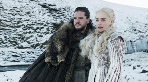 Game of Thrones season 8: Jon Snow (Kit Harington) and Daenerys (Emilia Clarke)