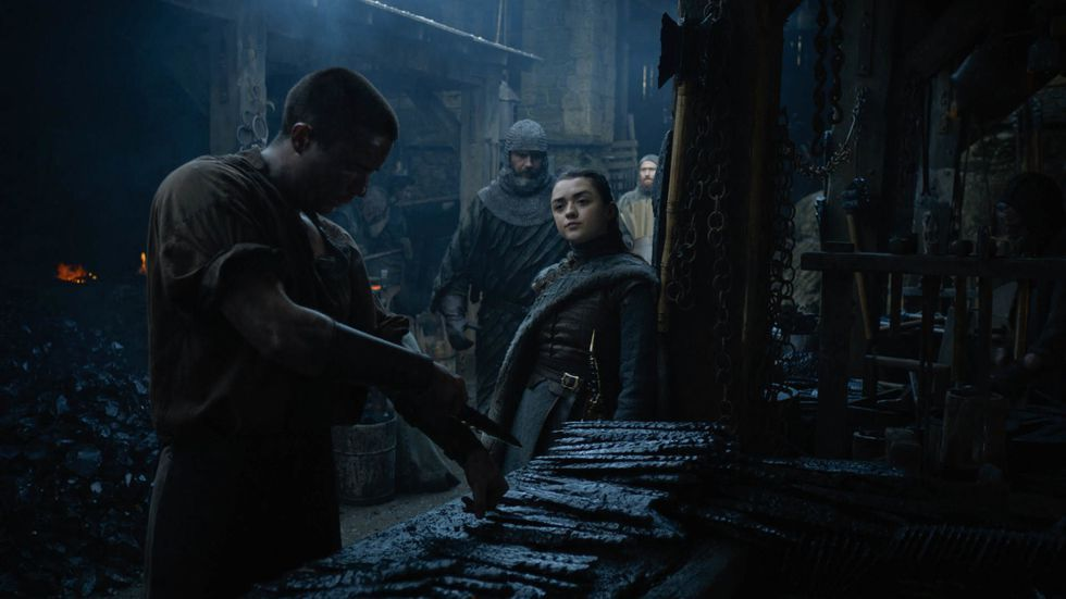 Maisie Williams on How Weird It Was to Shoot Arya Stark's Sex Scene With Gendry