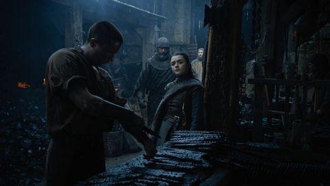 Game of Thrones Arya Gendry