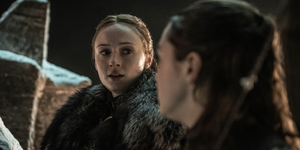 Game of Thrones season 8, episode 3: Sansa Stark and Aarya Stark