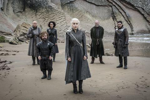 Game of Thrones season 7 cast.