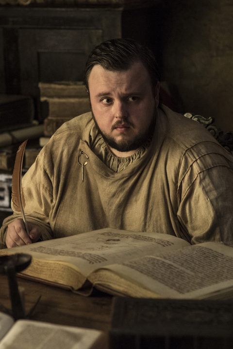 game of thrones costumes - samwell tarley