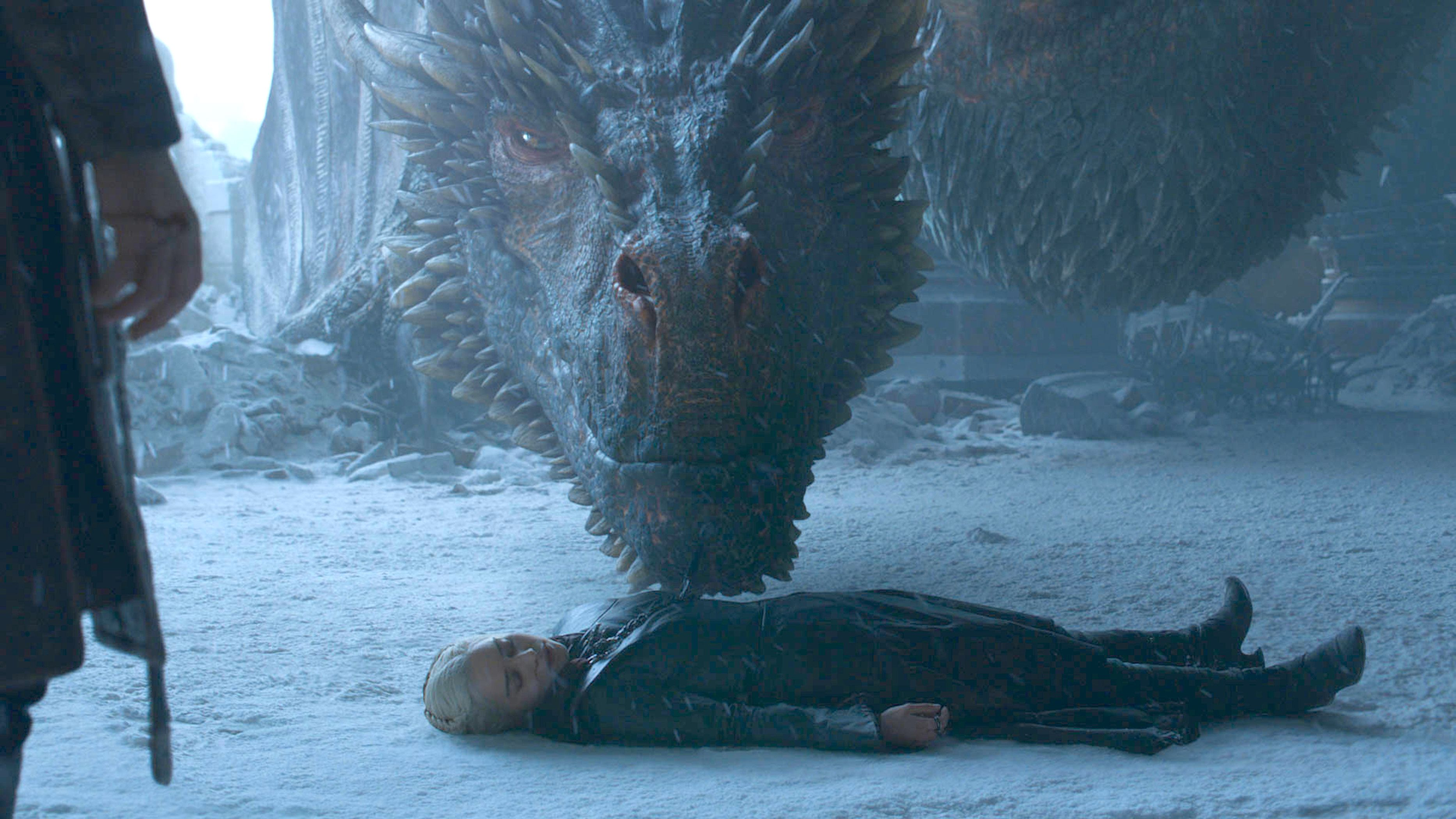 A Game of Thrones Fan Theory Says Drogon Is Bringing Daenerys to Be Resurrected