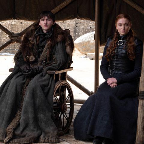 Game of Thrones Finale Bran, Arya, Sansa Stark