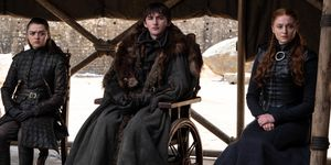 Game of Thrones Finale Bran, Arya, Sansa Stark