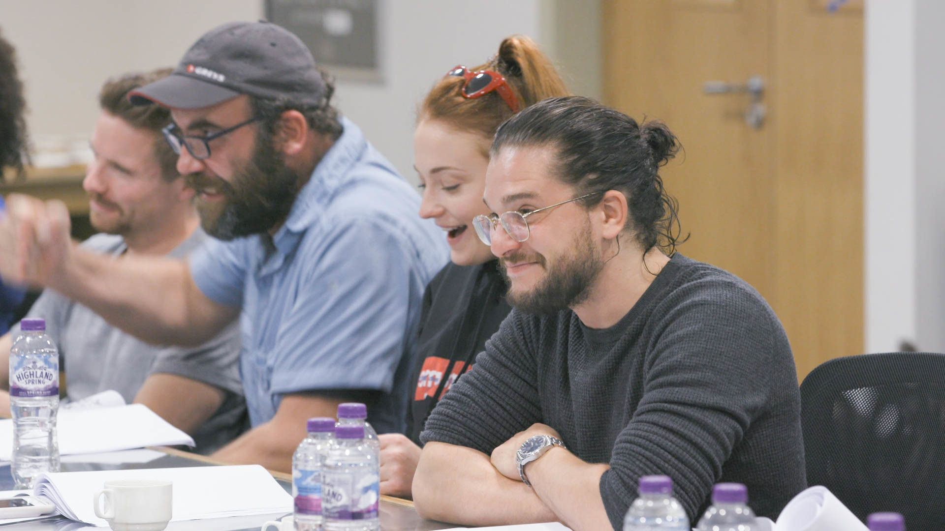 Image result for jon snow table read