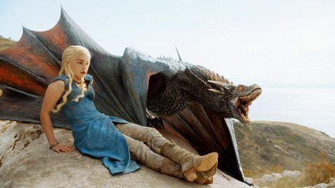 """Emilia Clarke en """"Juego de tronos"""""""