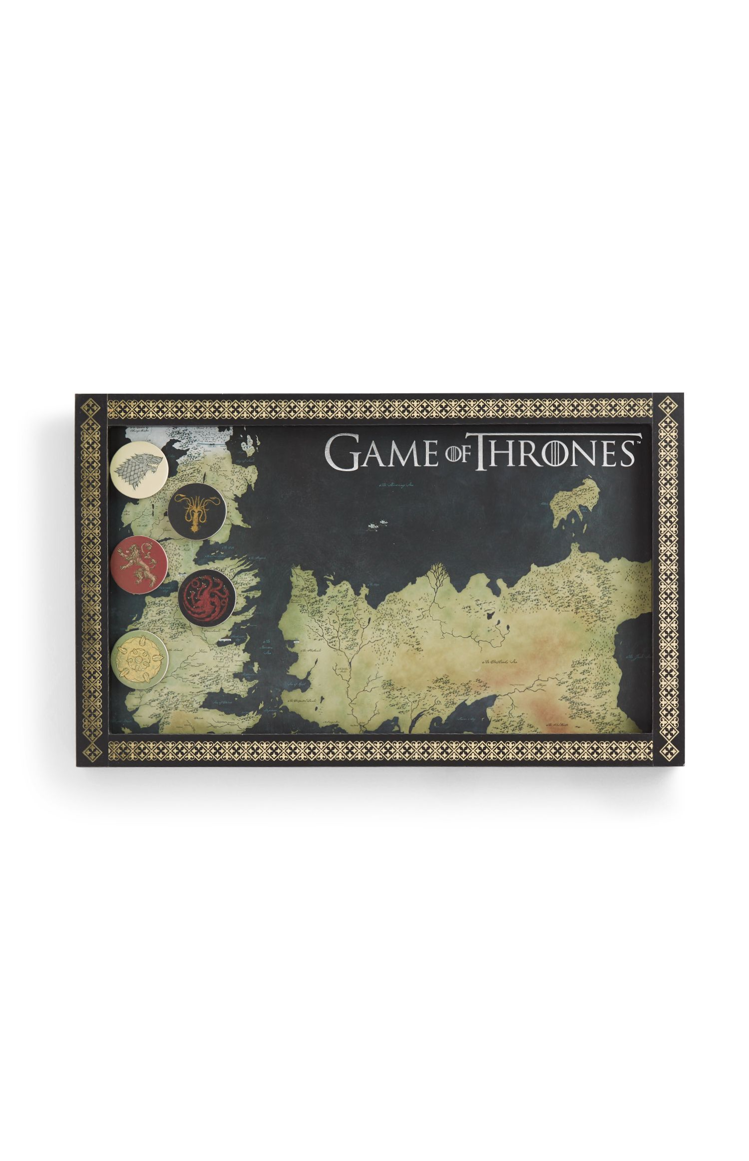 Primark Game Of Thrones Official HBO Cushion Pillow 50cm X 30cm Brand New
