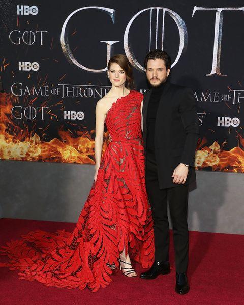 Game of Thrones, Season 8 premiere, Rose Leslie, Kit Harington