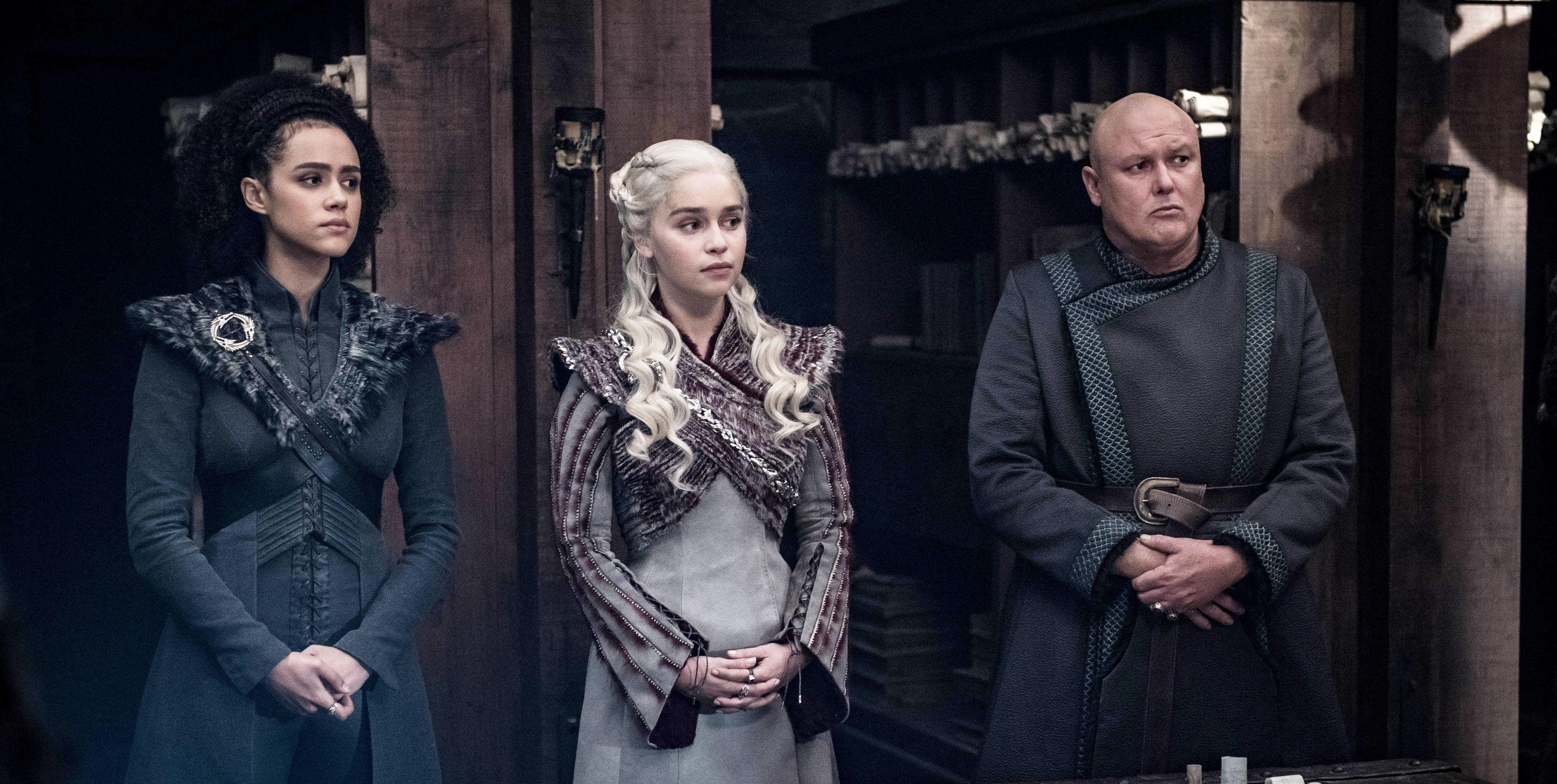 Game of Thrones, Season 8, Episode 4, Varys, Daenerys, Missandei