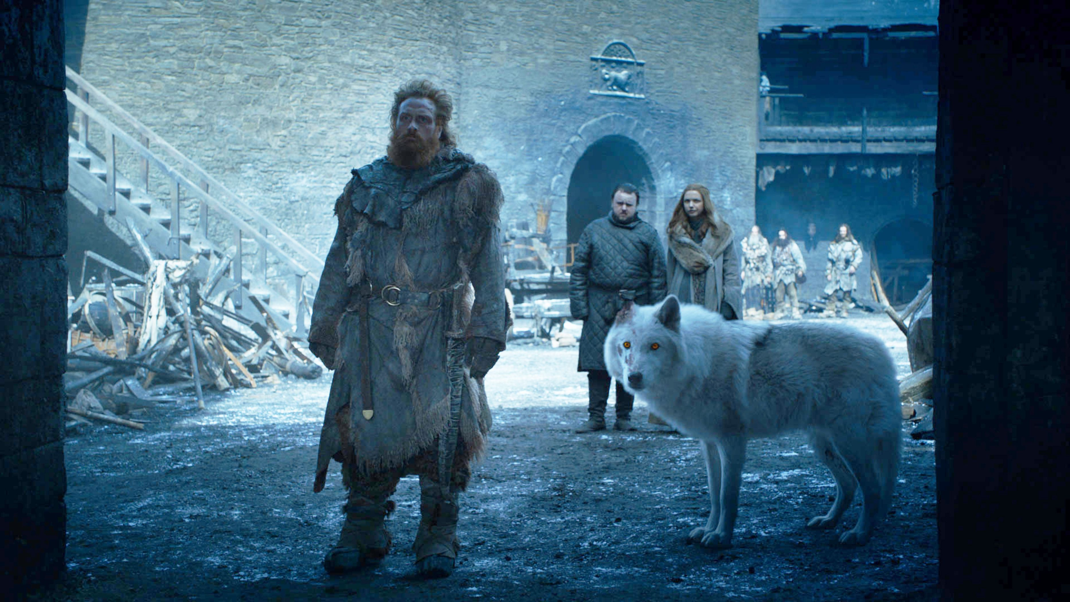 Jon Snow's Reunion With Ghost in the Game of Thrones Finale Made Everyone Weep
