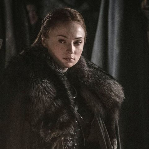 Sansa Stark went from being a scared child to a self-assured ruler in Games of Thrones.