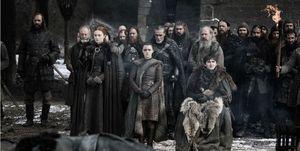 Game of Thrones season 8 – Sansa, Arya, Bran Stark